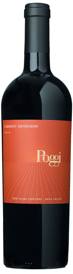 Poggi Twin Palms Vineyard 2014 Cabernet Sauvignon, Small Lot Winery
